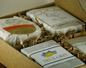 Mens Gift Set  - Gift for men, Gift for Dad, Gift for Husband, Natural Soaps for Men