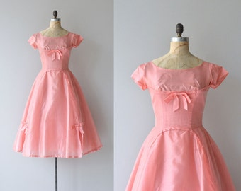 Pulled Taffy dress | 1950s party dress • vintage 50s dress