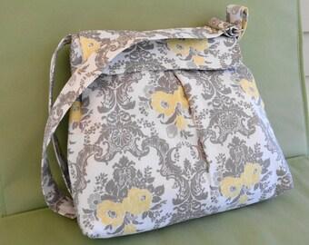 Bag Cross Body Bag Purse Pocketbook MessengerBag Handbag Grey