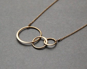 Orbit Necklace in Gold