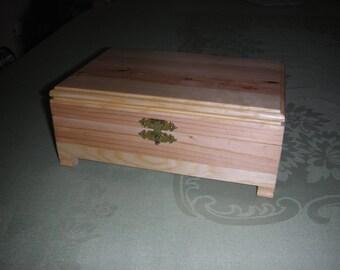 Pine Trinket/ Jewelry box.