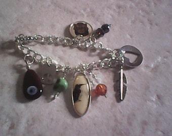 Charming Charm Bracelet Goth Spirit