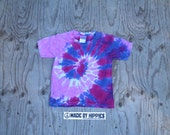 Cutie Spiral Tie Dye T-Shirt (Gildan Youth Size XS) (One of a Kind)