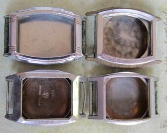 Vintage  Watch parts - watch Cases -  Steampunk - Scrapbooking  s13