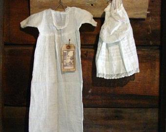 Primitive Peg Rack & Antique Doll Clothes, Primitive Display, Primitive Wall Hanging, Primitive Decor, Country Decor, Farmhouse Chic