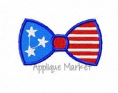 Machine Embroidery Design Embroidery Mini Bow Tie Flag INSTANT DOWNLOAD