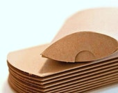 10 Large Kraft Pillow Boxes for Treats, Packaging & Gift Wrap . 7 x 5.5 x 2
