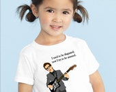 rockin' musician toddler tee debbie harry blondie, ELVIS costello, PATTI smith, IGGY pop or morrissey... original illustrations