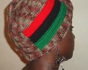 Desert Stern, Crochet Turban
