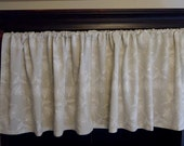 Cotton Cafe Curtain, Opaque, Emboidered Small Curtain