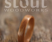 SIZE 10 - Classic Cherry Bentwood Ring - Handcrafted Wooden Ring