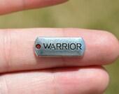 1 Silver WARRIOR Charm SC2687