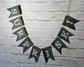 Surprise Chalkboard Style Banner, Surprise wedding bunting, Surprise photo prop party backdrop decor sign