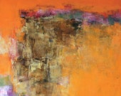 July 2015 - 1 - Original Abstract Oil Painting - 72.7 cm x 72.7 cm (app. 28.6 inch x 28.6 inch)