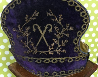 Lodge Crown- Purple