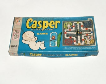 Vintage Casper The Friendly Ghost Board Game 1959