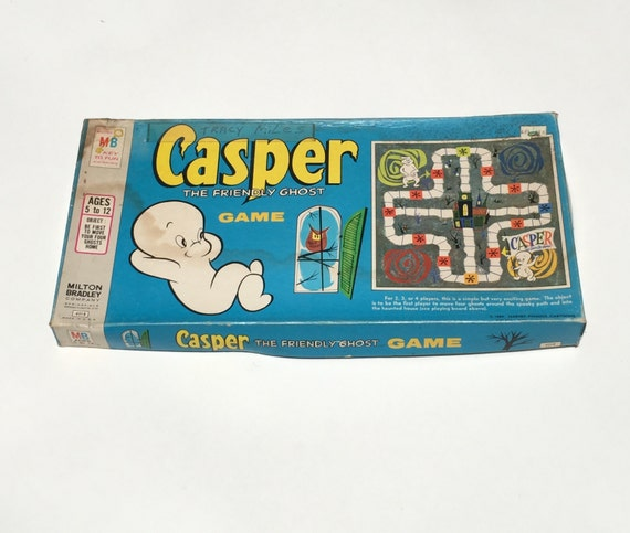 Vintage Casper The Friendly Ghost Board Game 1959   shopswell