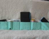 Mint green purse organizer-purse insert-handbag organizer