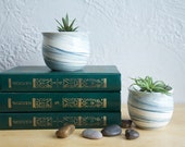 Small Planters - set of two
