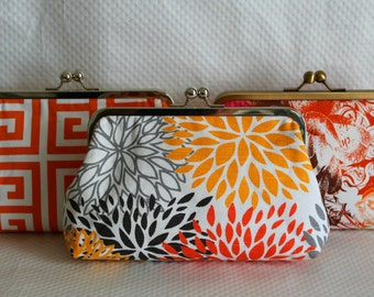 Wedding Clutches - Bridesmaids Clutches - Wedding Gifts - Bridesmaid Gifts - Clutch Sets - Bridesmaids Clutches Sets of 3 or 6