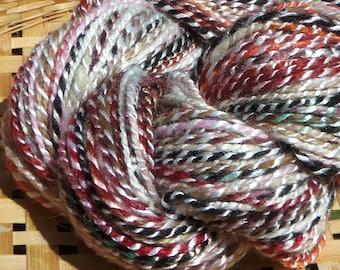 Handspun Bamboo and Suri Alpaca Yarn 125 yds