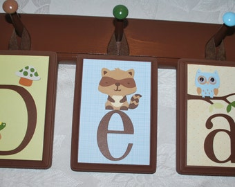 Hanging Wall Letters hanging wall letters | etsy