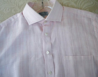 Vintage Clothing Men's Dress Shirt Long Sleeve Large Hilditch & Key Jermyn Street London