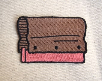 Squeegee Embroidered Patch