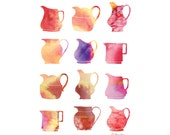Colourful Jugs - Limited edition