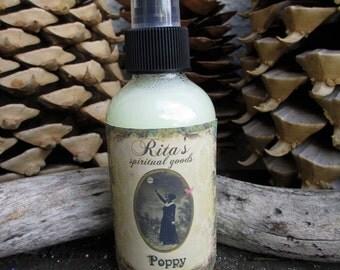 Rita's Poppy Spiritual Mist - Fertility, Luck, Ancestor Spirits, Prosperity - Pagan, Magic, hoodoo, Witchcraft, juju
