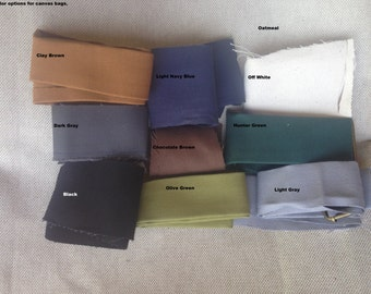 Canvas Color Options/This is a listing of available colors