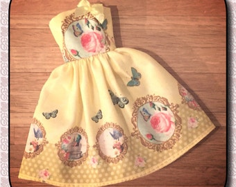 Shabby chic yellow dress for Pullip - Little Lénie