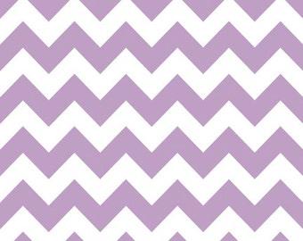 Lavender Medium Chevron Fabric by Riley Blake Designs - Half Yard - 1/2 Yard - Lavendar - Purple