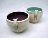Kitty Teacup - Purple