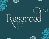 RESERVED for angelac1980 - Custom Stationery Set