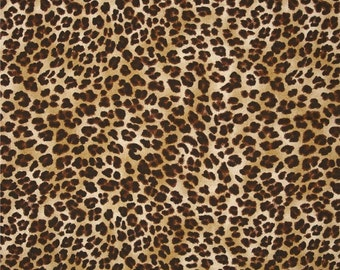 Set of 4, 6, 8 tufted chair pads, seat cushions, bar stool cushions, Amazon leopard sand, brown natural leopard print safari