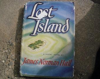 Vintage Book Lost Island