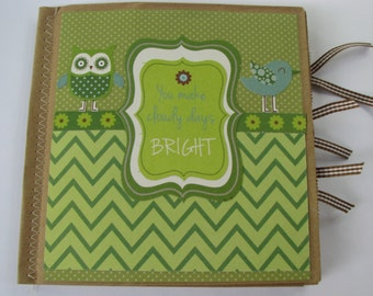 You Make Cloudy Days Bright Paperbag Scrapbook