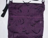 Storytelling Bats Cross Body Purse/bag made to order