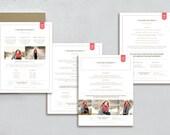 Senior Marketing Templates for Photographers - High School Senior Rep Program - Pricing  Guide Templates - m0157