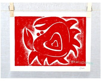 Crab Art, Beach Cottage Decor, Cute Crab, Ocean Theme, Ocean Theme, Wall Art, Crab wall art, Crab print, Nursery Art, crab painting, crabs