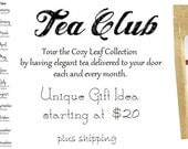 3 Month Cozy Leaf Tea Club Membership