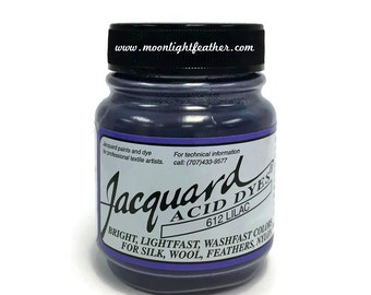 Feather, silk, wool, cashmere and Yarn Dyes - LILAC Jacquard Acid Dyes - 1/2 Oz : 3718