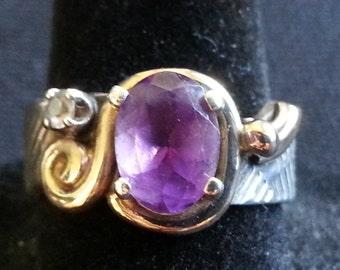 Purple Fancy Ring