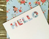 Personalized Note Cards - Set of 8 - Jenny Note