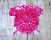 Pink Tie Dye Kids Tee (Small) Youth