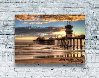 Huntington Beach Pier (The Last Set)