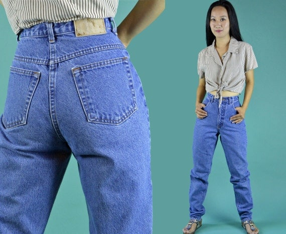 vintage 80er jahre jeans jeans high waist jeans konus 80er. Black Bedroom Furniture Sets. Home Design Ideas