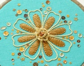 Copper petals goldwork materials pack