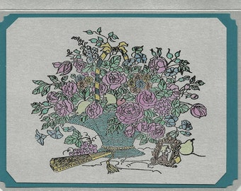 Victorian Beauty Note Card